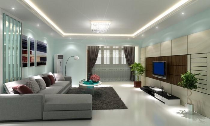 85 moderne wandfarben ideen fürs wohnzimmer 2016 - Ideen Fur Wohnzimmer