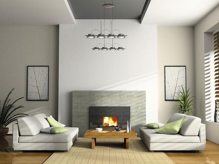 Wandfarben-Ideen-fürs-Wohnzimmer-Ein-modernes-Interieur