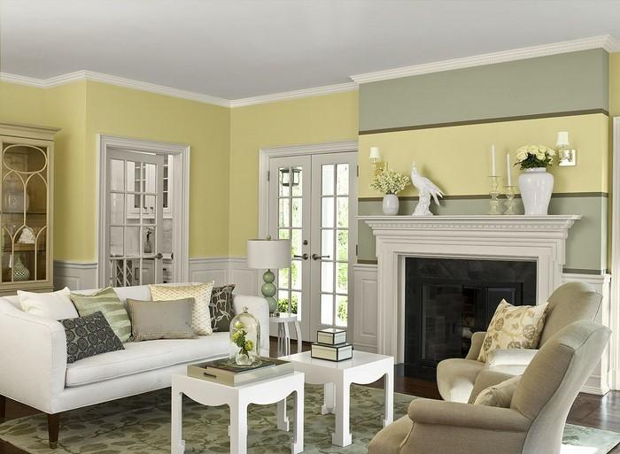 Wandfarben-Ideen-fürs-Wohnzimmer-Eine-außergewöhnliche-Ausstattung