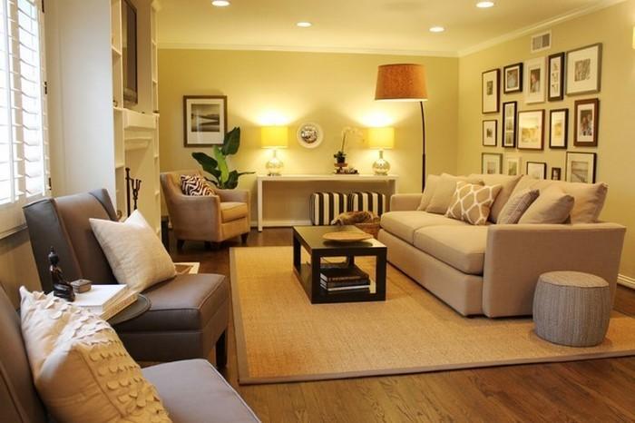 Wandfarben-Ideen-fürs-Wohnzimmer-Eine-außergewöhnliche-Deko