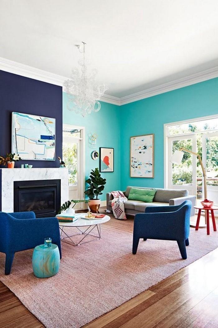 Wandfarben-Ideen-fürs-Wohnzimmer-Eine-außergewöhnliche-Gestaltung