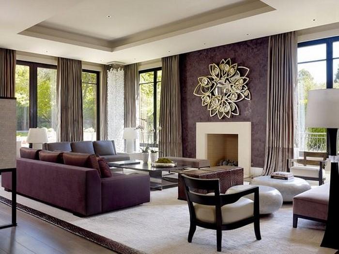 Moderne wandfarben ideen fürs wohnzimmer
