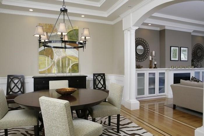 Wandfarben Ideen Fürs Wohnzimmer Eine Auffällige Deko