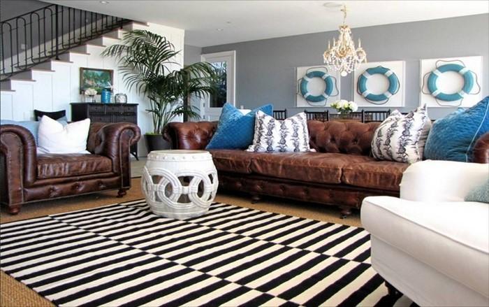 Wandfarben-Ideen-fürs-Wohnzimmer-Eine-coole-Atmosphäre