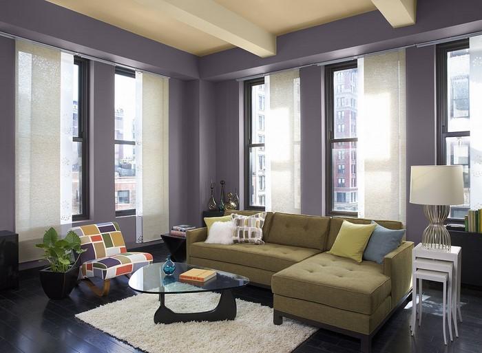 85 moderne wandfarben ideen fürs wohnzimmer 2016 - Wandfarb Ideen
