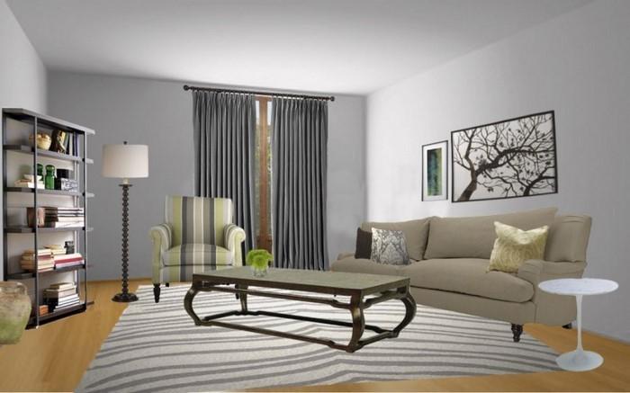 Wandfarben-Ideen-fürs-Wohnzimmer-Eine-coole-Deko