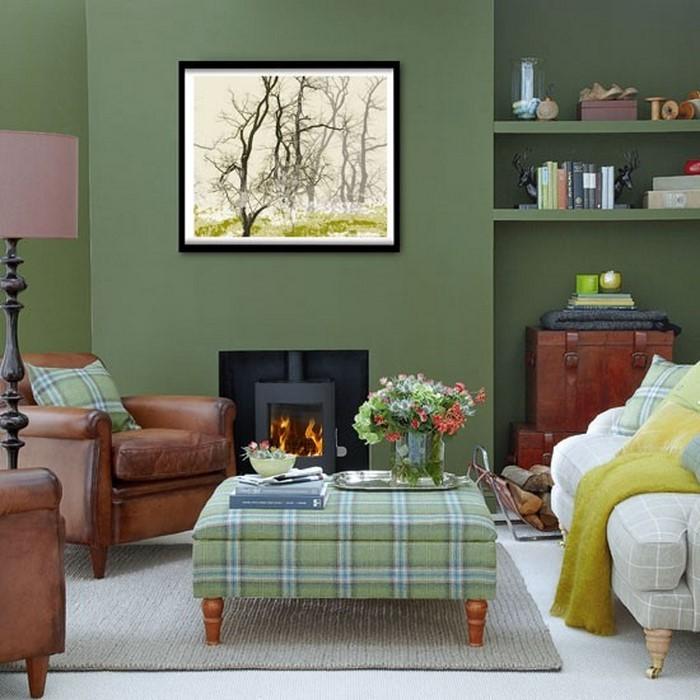 Wandfarben Ideen Frs Wohnzimmer Eine Coole Entscheidung