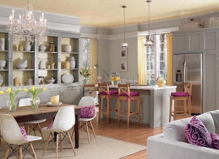 wandfarben wohnzimmer mediterran: moderne wandfarben ideen fürs ... - Wandfarben Wohnzimmer Mediterran