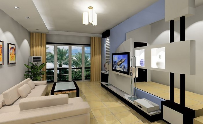 85 modern wall colors Ideas for the living room 2016