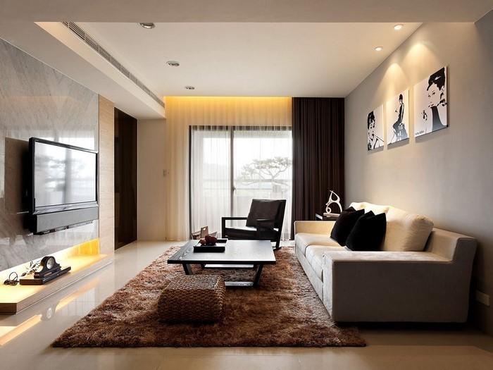 85 moderne wandfarben ideen fürs wohnzimmer 2016 - Moderne Wohnzimmer Wandfarben
