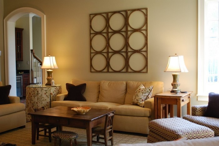85 moderne wandfarben ideen f rs wohnzimmer 2016. Black Bedroom Furniture Sets. Home Design Ideas