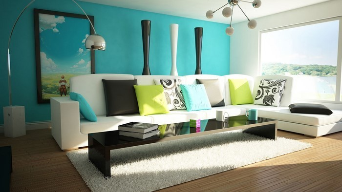 Wandfarben Ideen Fürs Wohnzimmer Eine Wunderschöne Deko