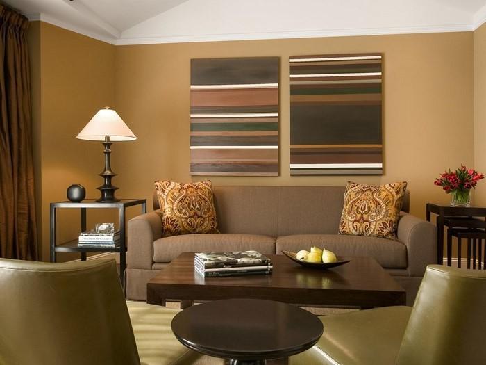 Wohnideen-Wohnzimmer-Eine-auffällige-Dekoration