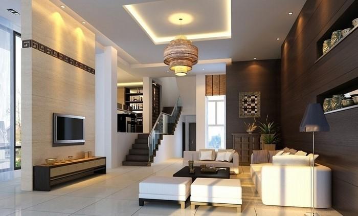 Wohnideen-Wohnzimmer-Eine-auffällige-Entscheidung