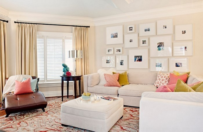 idee » wohnideen wohnzimmer braun lila - tausende fotosammlung von ...