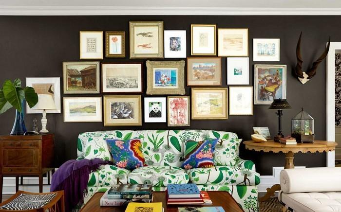 mintgr n braun wohnzimmer raum und m beldesign inspiration. Black Bedroom Furniture Sets. Home Design Ideas