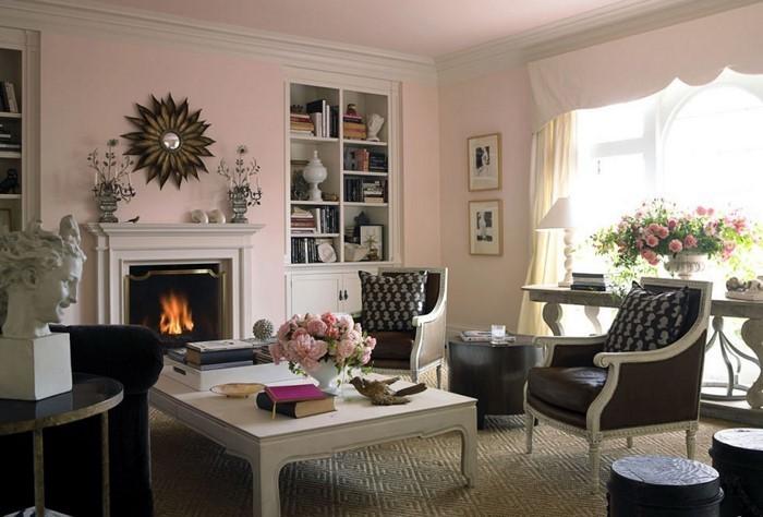 Wohnideen-Wohnzimmer-Wandfarben-Eine-coole-Atmosphäre