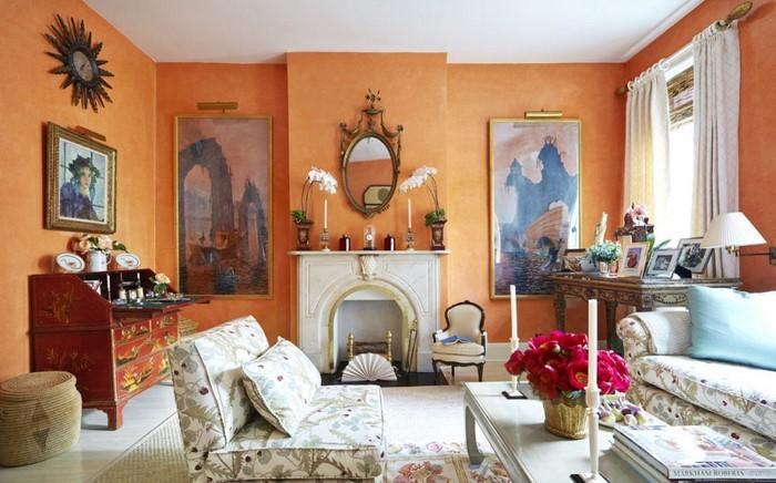 Wohnideen-Wohnzimmer-Wandfarben-Eine-wunderschöne-Atmosphäre