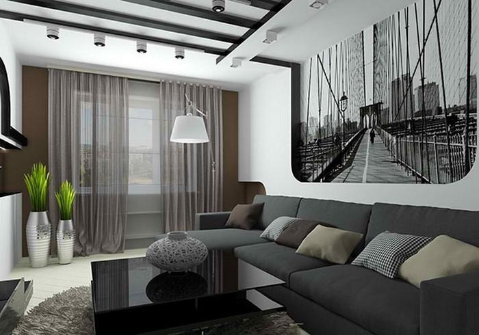 Wohnzimmer Farben Ein Modernes Interieur