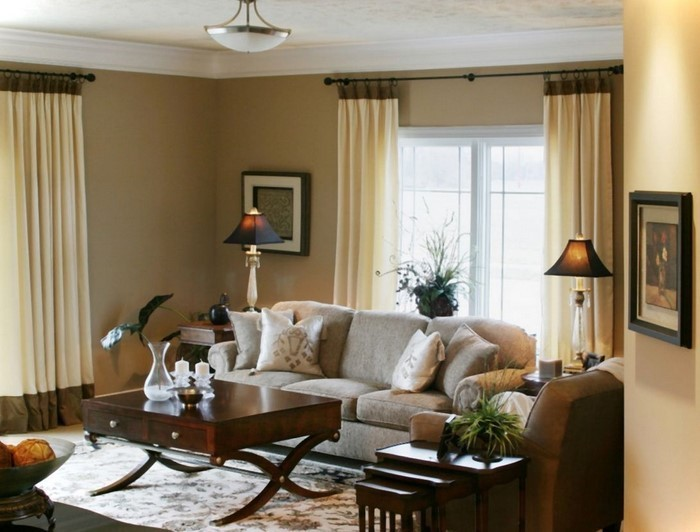 coole wohnzimmer farben:Wohnzimmergestaltung mit Farben:Eine ...