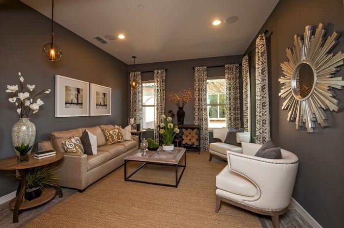 coole wohnzimmer farben:Wohnzimmer Farben: Eine kreative Entscheidung in rot