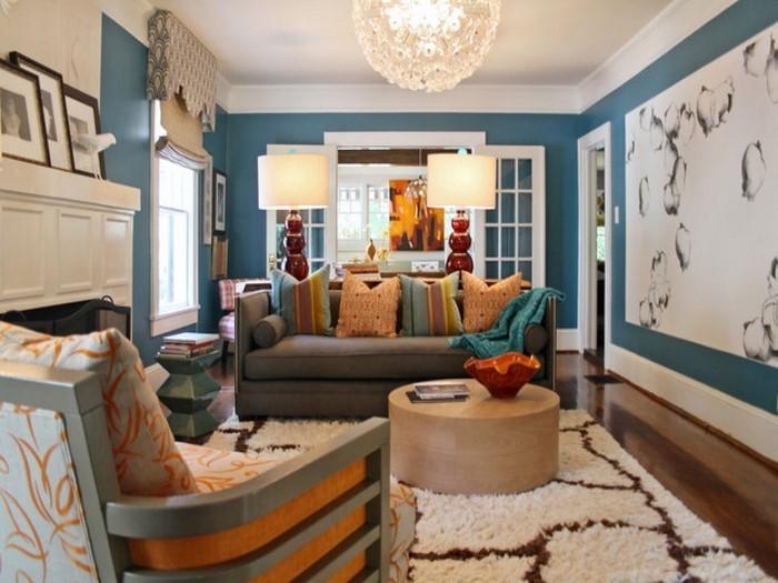 Wohnzimmer-Farben-Eine-außergewöhnliche-Deko