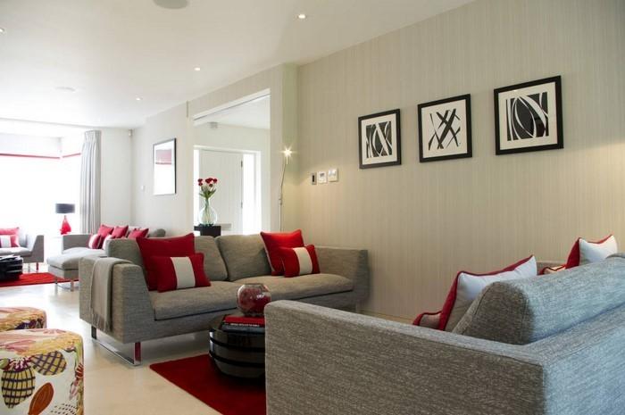 wohnzimmer farben eine kreative ausstattung - Wohnzimmerfarben