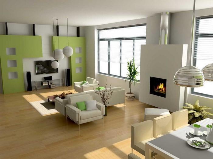 wohnzimmer farben: 107 großartige ideen, Esszimmer