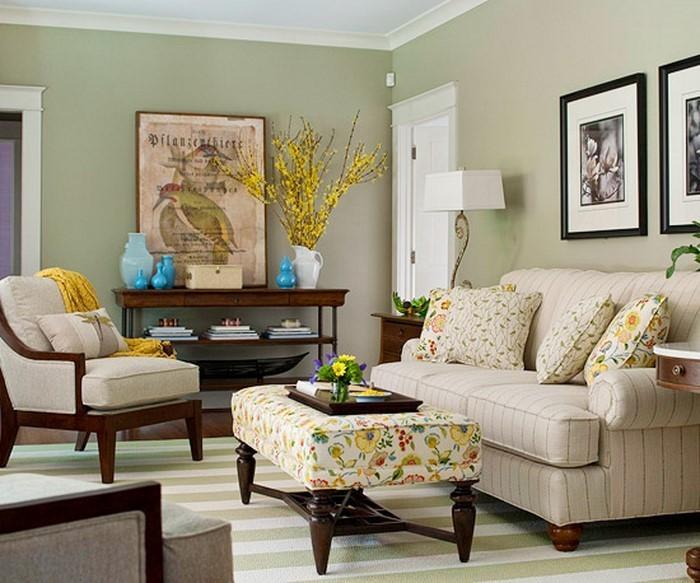 wohnzimmer farben grau streifen ~ ideen für die innenarchitektur ...