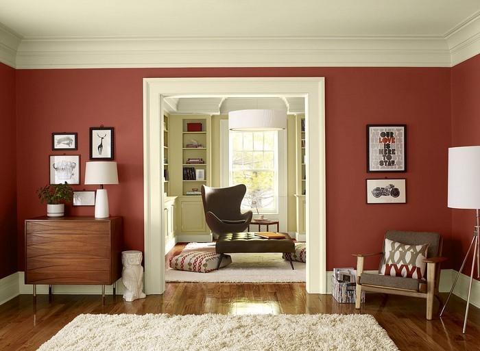 coole wohnzimmer farben:Wohnzimmergestaltung mit Farben:Eine coole Dekoration