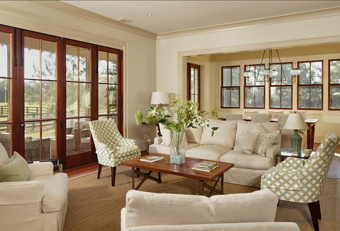 coole wohnzimmer farben:Wohnzimmer-Farben-auffällige-Entscheidung