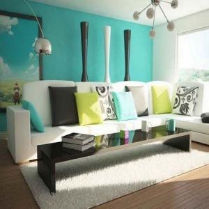Ideen für wohnzimmer farben  85 moderne Wandfarben Ideen fürs Wohnzimmer 2016