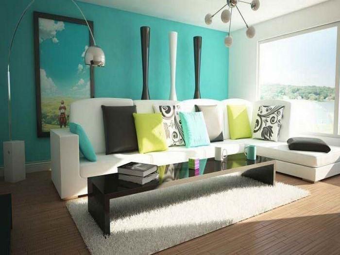 wohnzimmer farben auffllige gestaltung - Wohnzimmerfarben