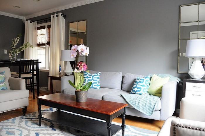 Wohnzimmer Farben 107 Gro U00dfartige Ideen