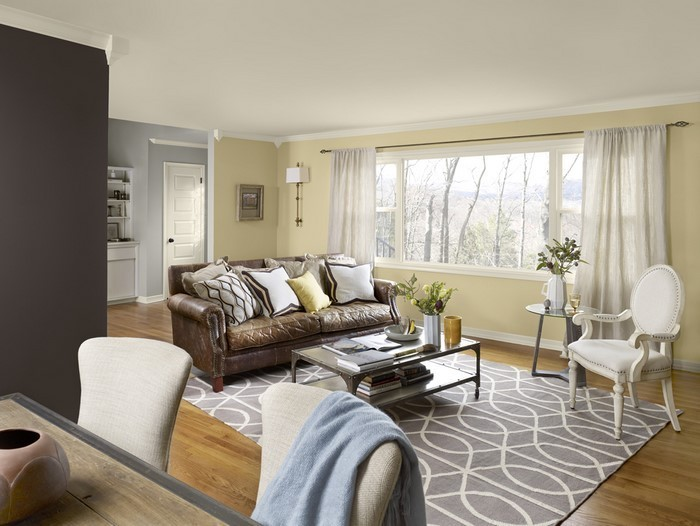 Wohnzimmer-Farben-kreatives- interieur