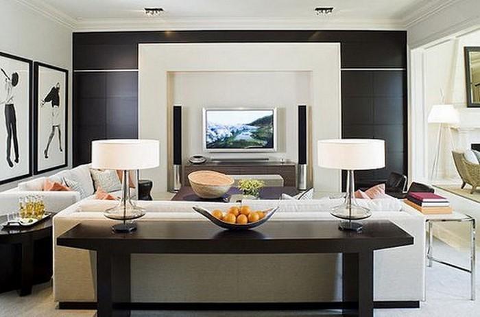 Wohnzimmer-Farben-modernes-Design