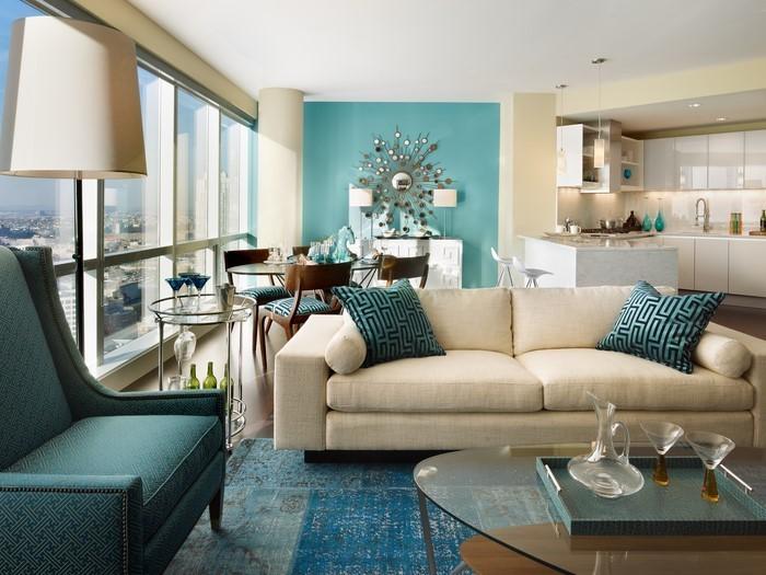 wohnzimmer farben tolle entscheidung
