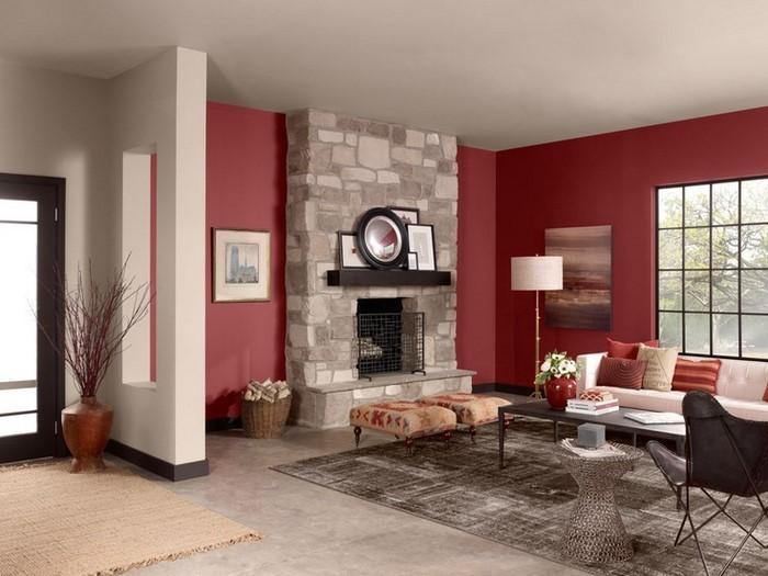 Wohnzimmer-Farben-verblüffende-Gestaltung