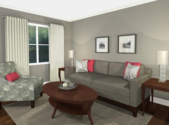 Wohnzimmer-Farben-verblüffendes-Design