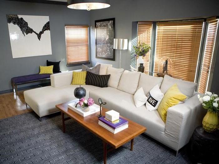 Wohnzimmer-Ideen-mit-Gelb-Ein-auffälliges-Design