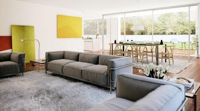 Wohnzimmer-Ideen-mit-Gelb-Ein-kreatives-Design