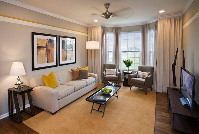 Wohnzimmer-Ideen-mit-Gelb-Ein-wunderschönes-Design