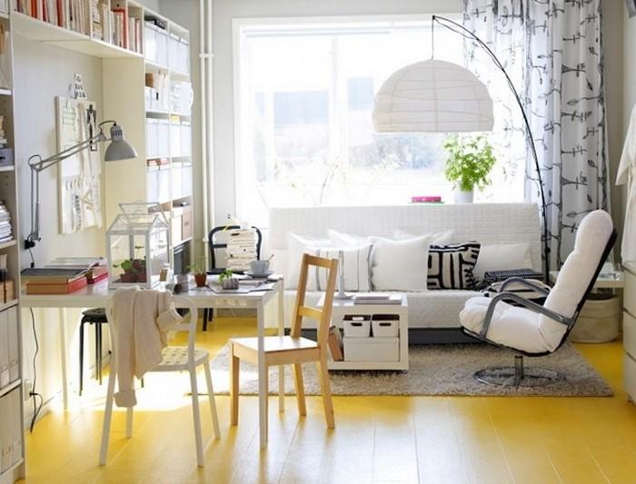Wohnzimmer-Ideen-mit-Gelb-Eine-außergewöhnliche-Ausstattung