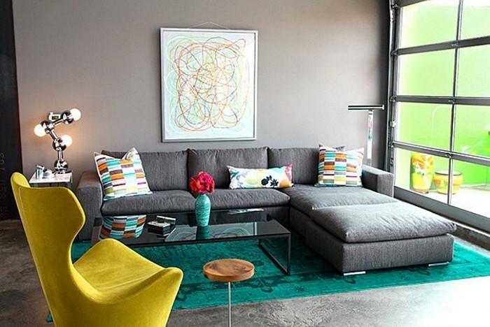 Wohnzimmer-Ideen-mit-Gelb-Eine-außergewöhnliche-Ausstrahlung