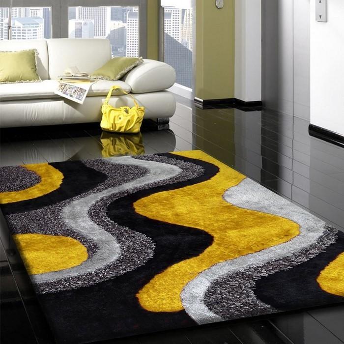 Wohnzimmer-Ideen-mit-Gelb-Eine-außergewöhnliche-Dekoration