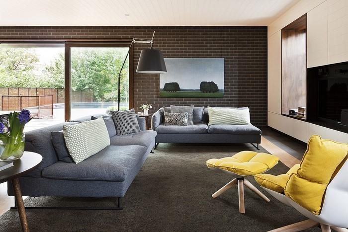 Wohnzimmer-Ideen-mit-Gelb-Eine-außergewöhnliche-Entscheidung