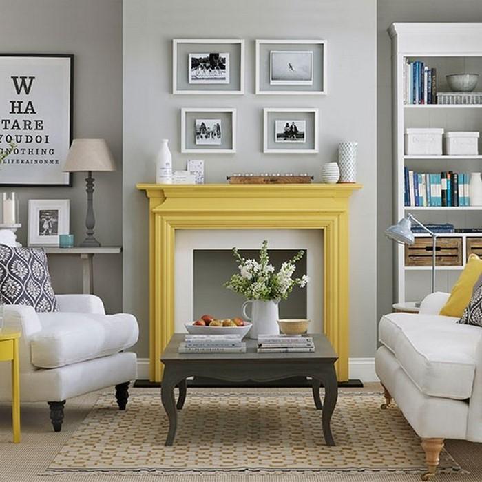 Wohnzimmer-Ideen-mit-Gelb-Eine-außergewöhnliche-Gestaltung