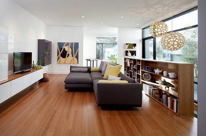 Wohnzimmer-Ideen-mit-Gelb-Eine-auffällige-Deko