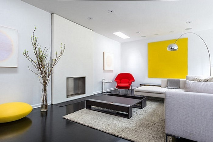 Wohnzimmer-Ideen-mit-Gelb-Eine-coole-Ausstattung