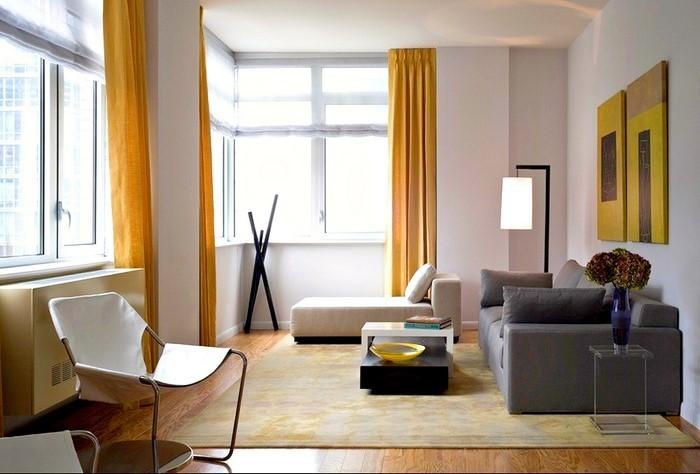 Wohnzimmer-Ideen-mit-Gelb-Eine-coole-Gestaltung